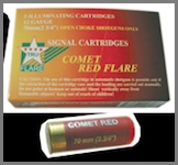 12 Gauge Bear Banger Red Comet Flares