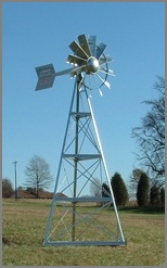 Ornamental Windmill